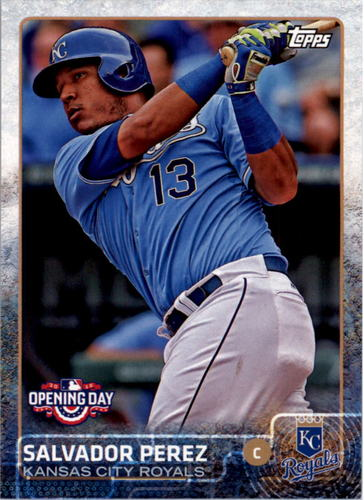 Photo of 2015 Topps Opening Day #57 Salvador Perez