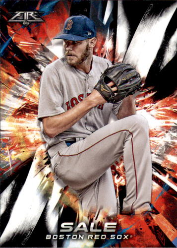 Photo of 2018 Topps Fire #91 Chris Sale