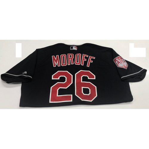 Photo of Max Moroff Game-Used 2019 Spring Training Jersey