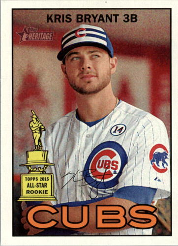 Photo of 2016 Topps Heritage #70A Kris Bryant
