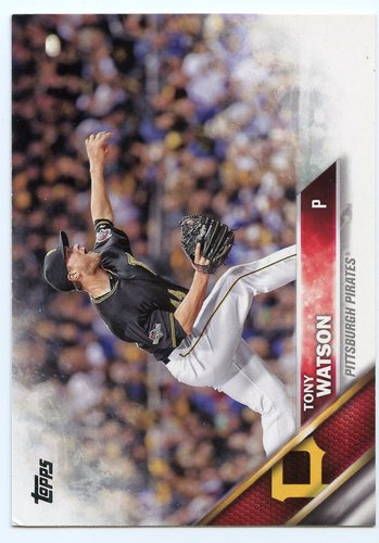 Photo of 2016 Topps #510 Tony Watson