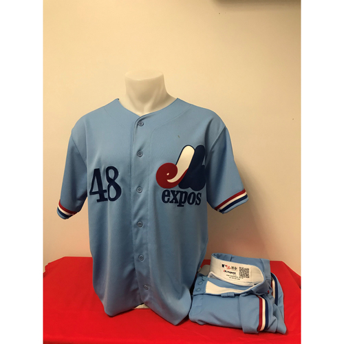 Photo of Javy Guerra Expos Gear: Game-Used Jersey and Game-Used Pants