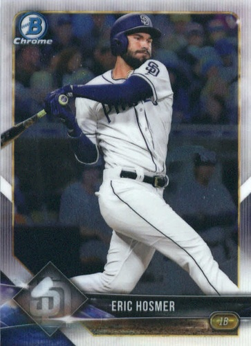 Photo of 2018 Bowman Chrome #82 Eric Hosmer