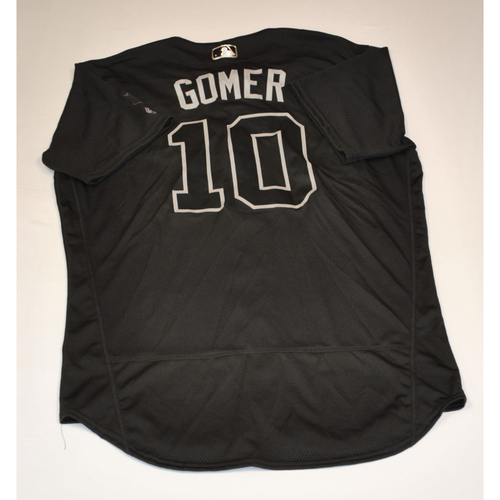 """Photo of Yan """"GOMER"""" Gomes Washington Nationals Game-Used 2019 Players' Weekend Jersey"""