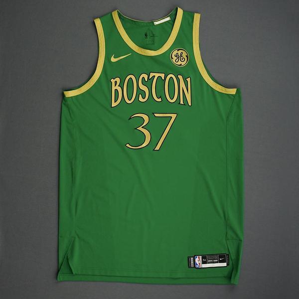 Image of Semi Ojeleye - Boston Celtics - Christmas Day' 19 - Game-Worn City Edition Jersey