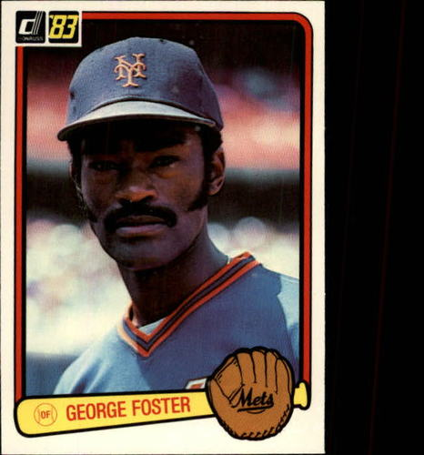 Photo of 1983 Donruss #427 George Foster
