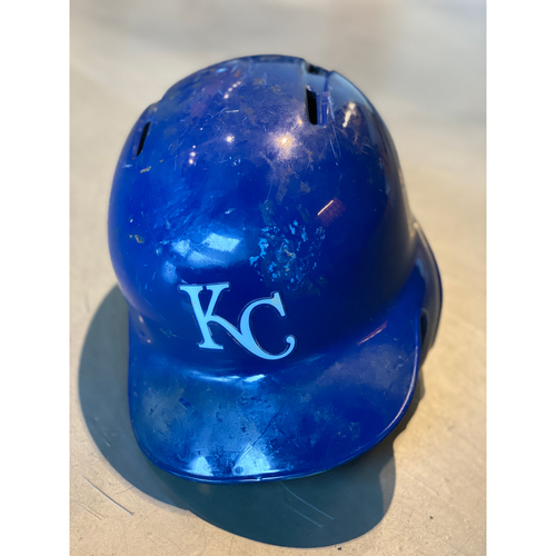 Photo of Team-Issued Helmet: Adalberto Mondesi (Size 7 1/2)