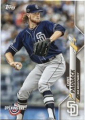 Photo of 2020 Topps Opening Day #196 Chris Paddack