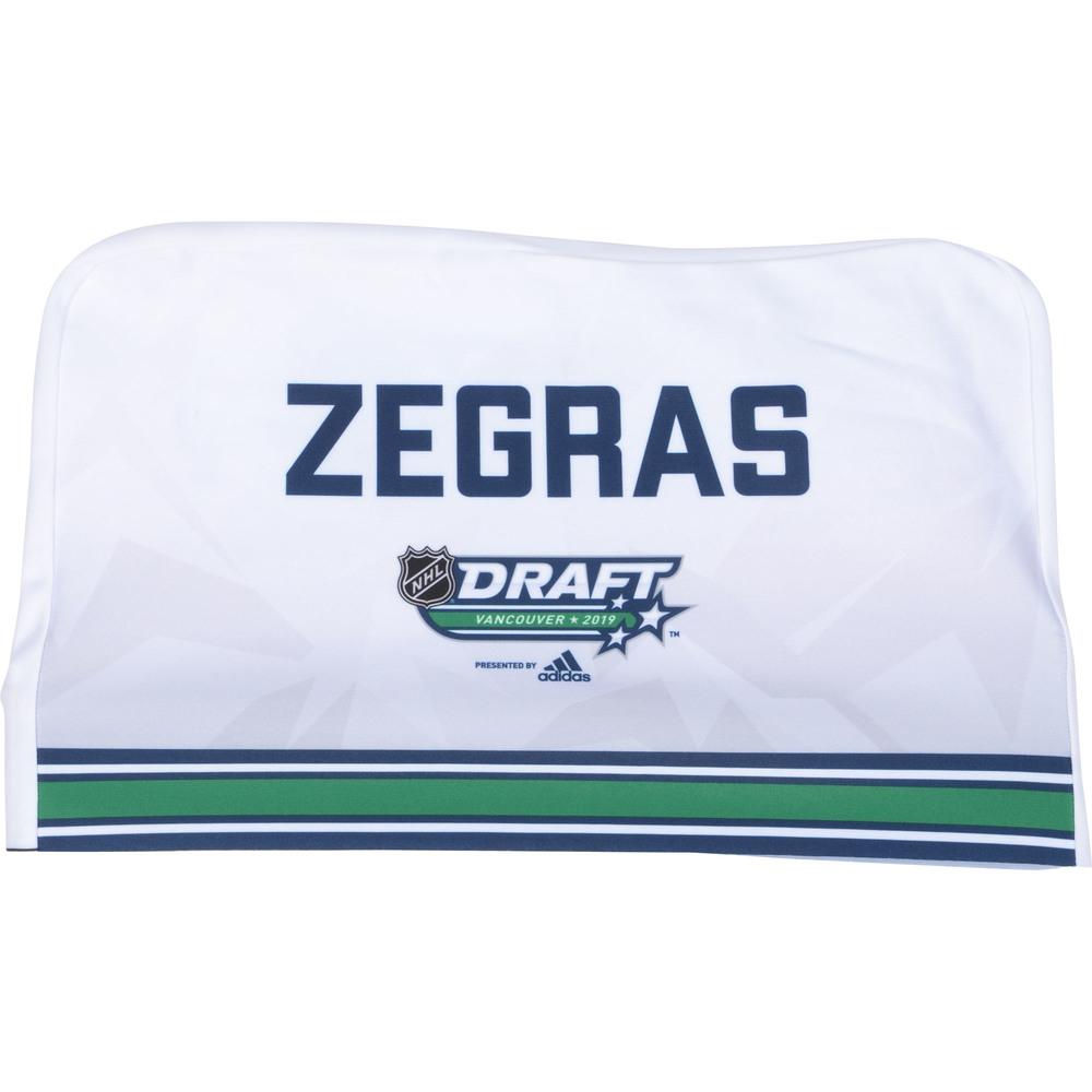 Trevor Zigras Anaheim Ducks 2019 NHL Draft Seat Cover - Second set (Not Used)