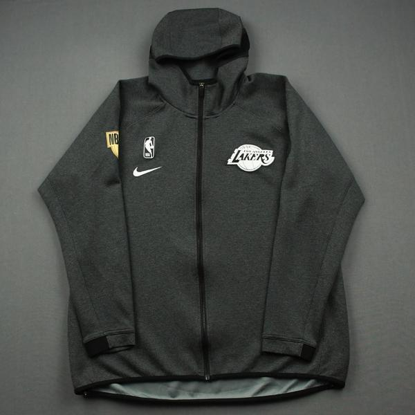 Image of Jared Dudley - Los Angeles Lakers - 2020 NBA Finals Game 6 - Game-Worn Hooded Warmup Jacket