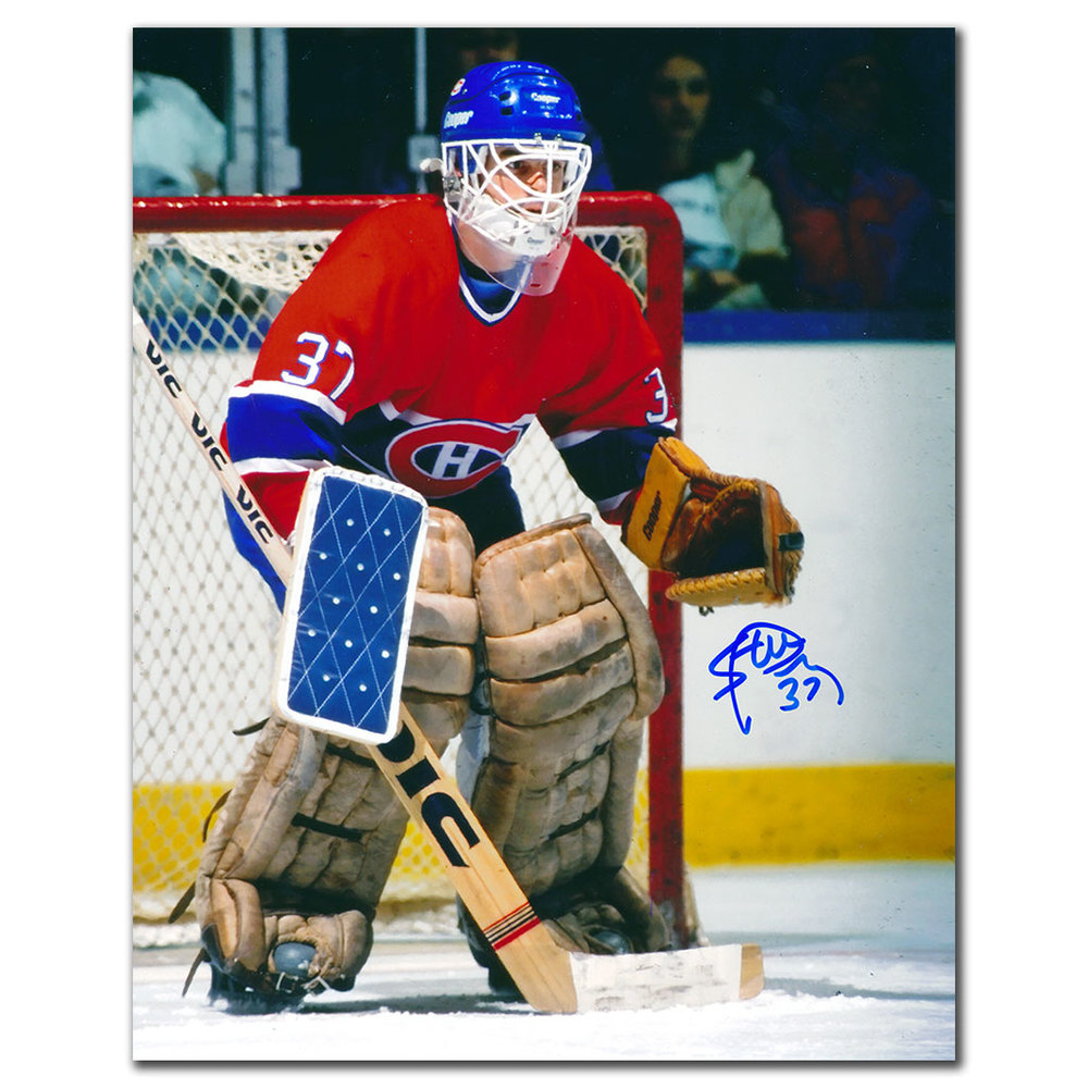 Steve Penney Montreal Canadiens Autographed 8x10