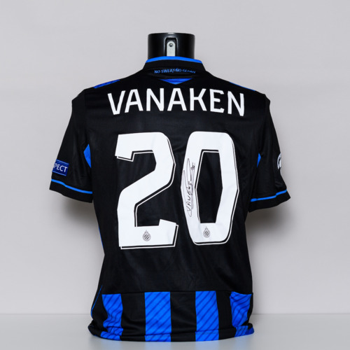Photo of 20/21 Club Brugge Jersey - signed by Hans Vanaken