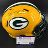 PCF - Packers Nick Perry Signed Team Used Helmet