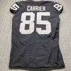 London Games - Raiders Derek Carrier Game Used Jersey (11/24/19) Size 44 W/ AFL Eternal Flame 60 Year Patch