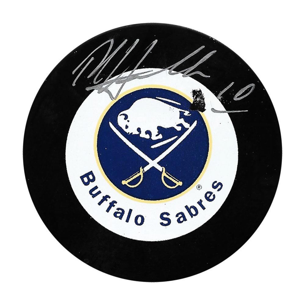 Dale Hawerchuk Autographed Buffalo Sabres Puck