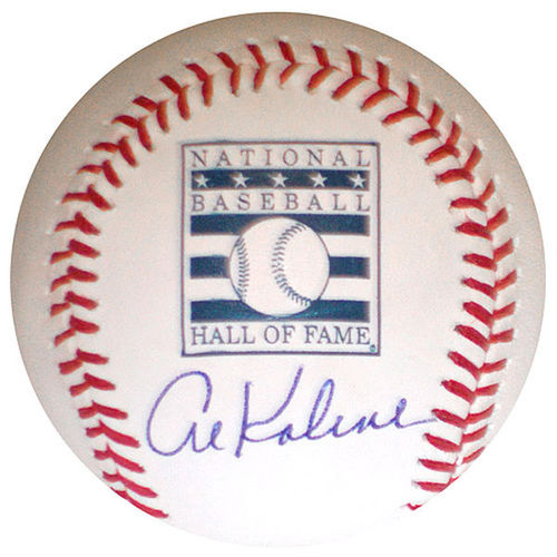 Photo of Al Kaline Autographed Baseball-HOF Baseball