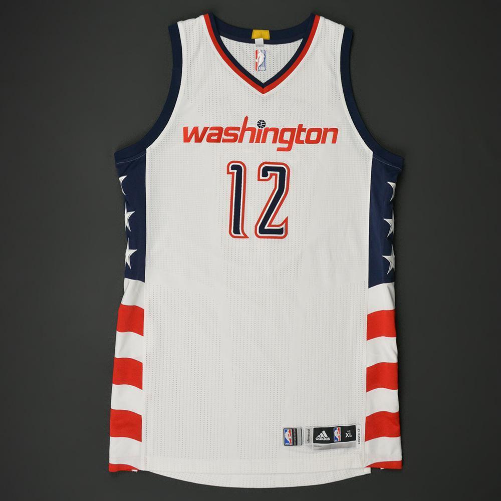 Kelly Oubre Jr - Washington Wizards - Game-Worn White Alternate Jersey -  2016- 0981c38aa