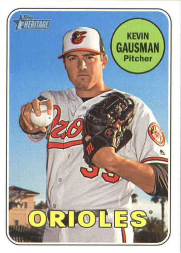 Photo of 2018 Topps Heritage #95 Kevin Gausman