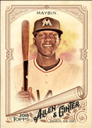 Photo of 2018 Topps Allen and Ginter #4 Cameron Maybin