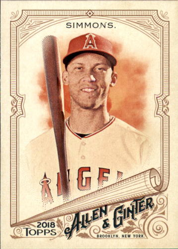 Photo of 2018 Topps Allen and Ginter #58 Andrelton Simmons