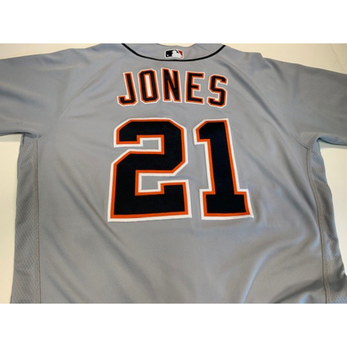 Photo of Game-Used Road Jersey: JaCoby Jones