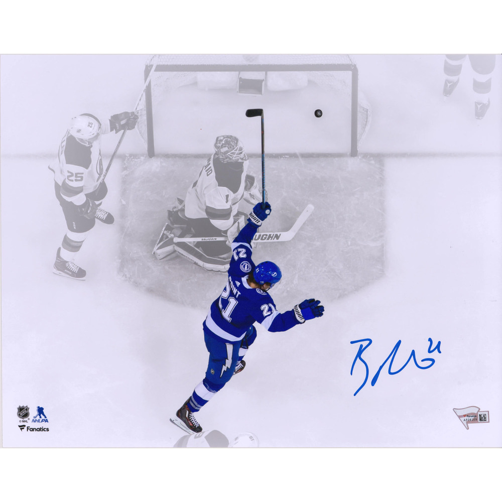 Brayden Point Tampa Bay Lightning Autographed 11