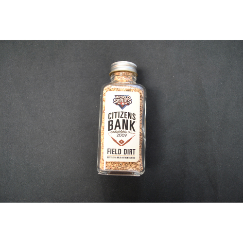 Photo of 2009 World Series Game-Used Dirt Jar - Game 5 - Citizens Bank Park