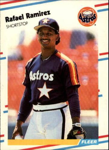 Photo of 1988 Fleer Update #91 Rafael Ramirez