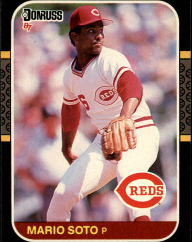 Photo of 1987 Donruss #82 Mario Soto