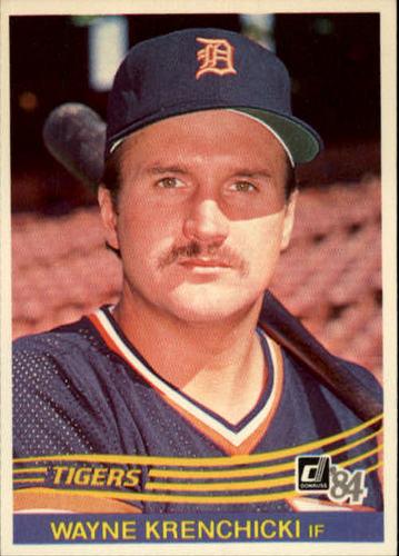 Photo of 1984 Donruss #334 Wayne Krenchicki