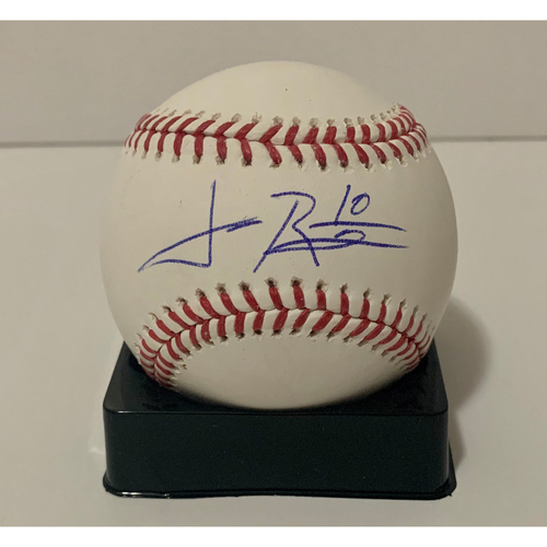 Photo of Josh Rojas Autographed Ball