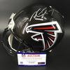 Falcons Michael Vick Signed Proline Helmet