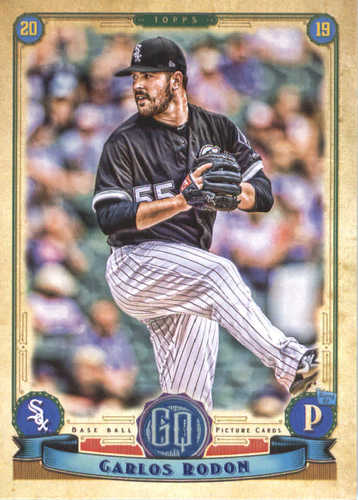 Photo of 2019 Topps Gypsy Queen #154 Carlos Rodon