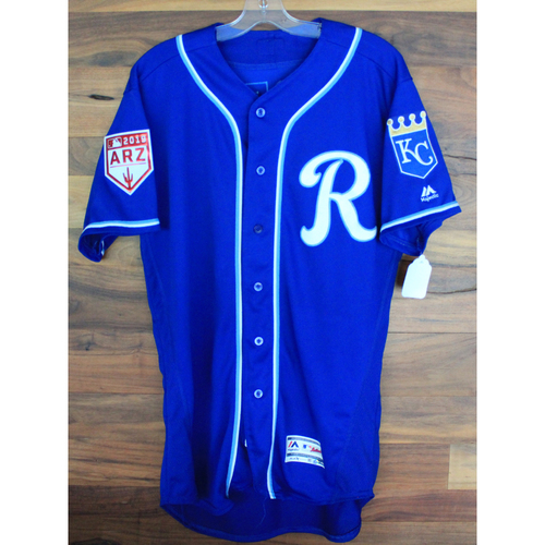 Game-Used Jersey: Jecksson Flores (COL @ KC - 2/25/19)