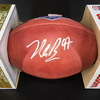 NFL - 49ers Nick Bosa Signed Authentic Football with 2019 NFL Draft Logo
