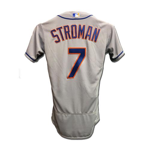 Photo of Marcus Stroman #7 - Team Issued Road Grey Jersey - 2019 Season
