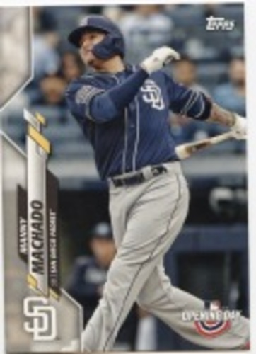 Photo of 2020 Topps Opening Day #200 Manny Machado