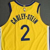Willie Cauley-Stein - Golden State Warriors - Game-Worn Statement Edition Jersey - 2019-20 NBA Season