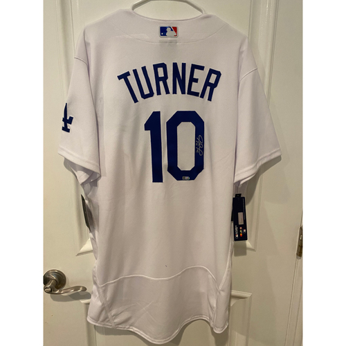 Justin Turner Authentic Autographed Los Angeles Dodgers Jersey
