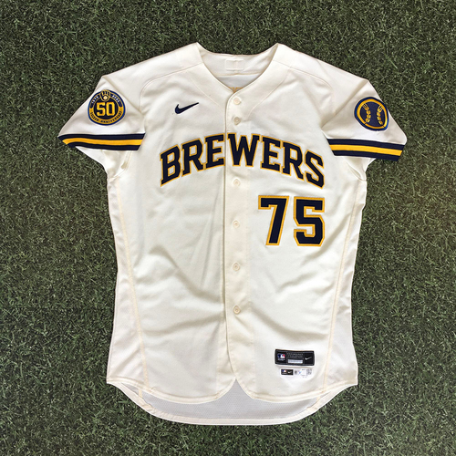 Photo of Payton Henry 2020 Team-Issued Home Cream Jersey
