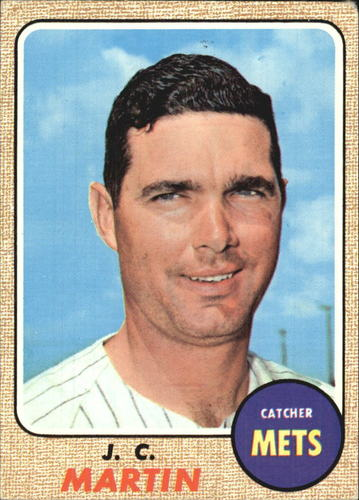 Photo of 1968 Topps #211 J.C. Martin