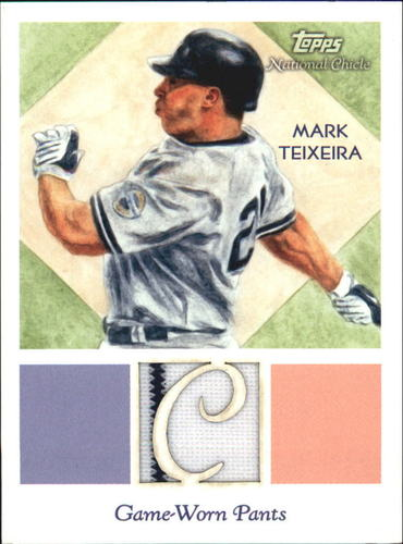 Photo of 2010 Topps National Chicle Relics #MT Mark Teixeira B
