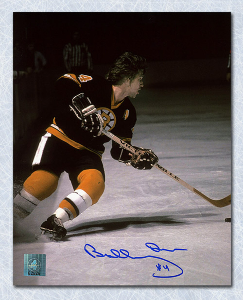 Bobby Orr Boston Bruins Autographed Playmaker 8x10 Photo: GNR COA
