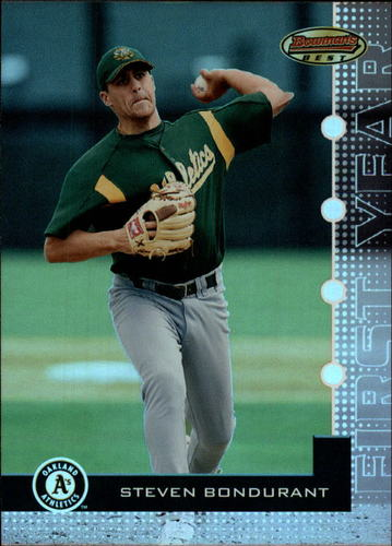 Photo of 2005 Bowman's Best #56 Steven Bondurant FY RC