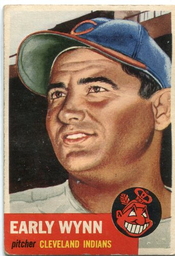 Photo of 1953 Topps #61 Early Wynn -- Hall of Fame Class of 1972