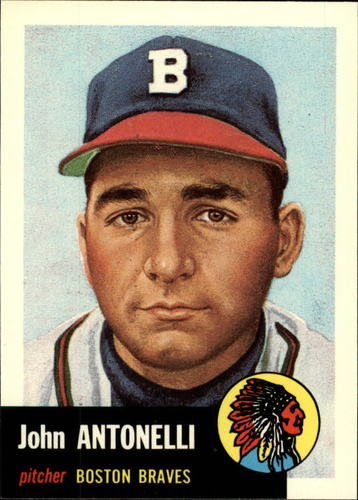 Photo of 1991 Topps Archives 1953 #106 Johnny Antonelli