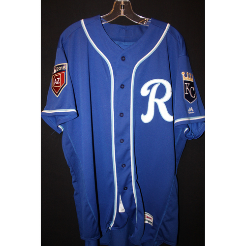 Photo of Team-Issued Spring Training Jersey: Cam Gallagher (Size 48)