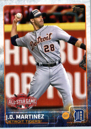 Photo of 2015 Topps Update #US329 J.D. Martinez
