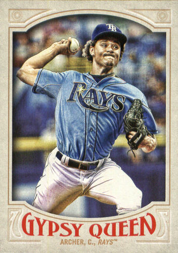 Photo of 2016 Topps Gypsy Queen #91A Chris Archer/Pitching