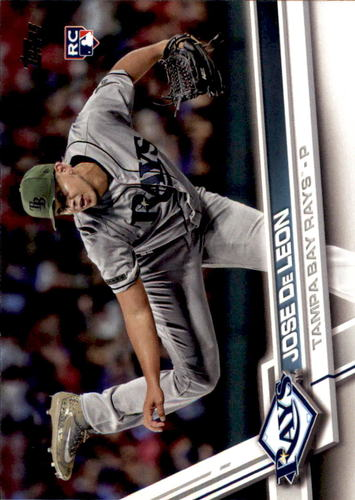 Photo of 2017 Topps Update #US186 Jose De Leon Rookie Card